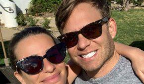 Lea Michele está embarazada de su primer hijo