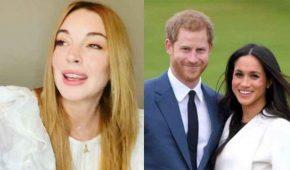 Lindsay Lohan dice que los duques de Sussex serán presa de los paparazzi