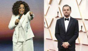 Leonardo DiCaprio se asocia con Oprah Winfrey para alimentar a estadounidenses pobres