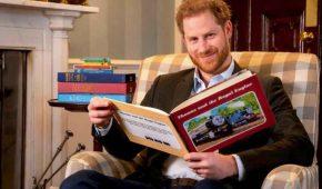 Príncipe Harry filma introducción para serie animada 'Thomas y sus amigos'