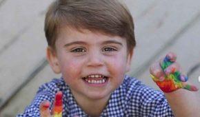 El príncipe Louis festejó su segundo cumpleaños