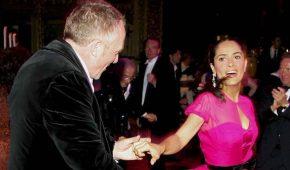 Salma Hayek y su esposo François Henri-Pinault festejan 14 años de amor