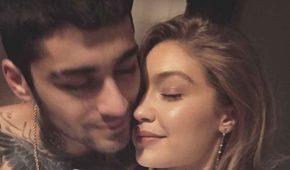 Gigi Hadid espera un hijo con Zayn Malik