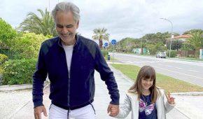 Andrea Bocelli y su familia dieron positivo al coronavirus