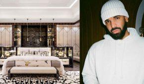 Drake duerme en una cama de US$400 mil