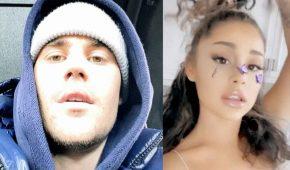 Justin Bieber y Ariana Grande lanzan dueto de caridad