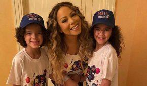 Mariah Carey celebra el cumpleaños de sus gemelos en medio a la cuarentena