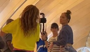 Jennifer Lopez revela videos inéditos de sus ensayos con Shakira