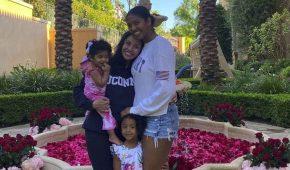 Hija menor de Kobe Bryant da sus primeros pasos