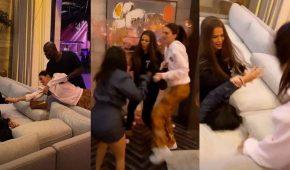 Fiesta de cumpleaños de Khloe Kardashian se convirtió en un absoluto caos