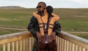 Kim Kardashian se acurruca con esposo Kanye West en su rancho de US$14 millones
