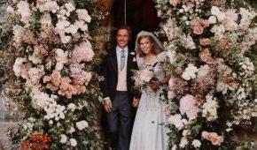 El Palacio de Buckingham publica fotos de la boda de la princesa Beatrice
