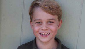 Foto: El príncipe George cumple 7 años