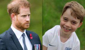 El Príncipe Harry sigue muy presente en la vida de su sobrino el Príncipe George