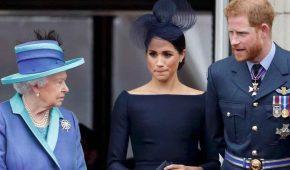 """La reina convoca a Meghan Markle y al príncipe Harry para una """"reconciliación"""""""