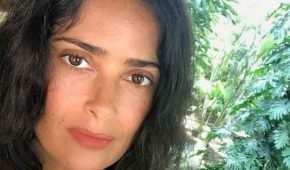 Salma Hayek se siente bendecida por disfrutar de la naturaleza
