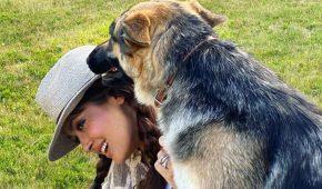 Salma Hayek adora tener mascotas