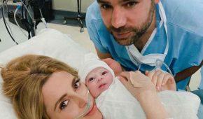 Shanik Aspe ya ha dado a luz a su hija con Mauricio Odiardi
