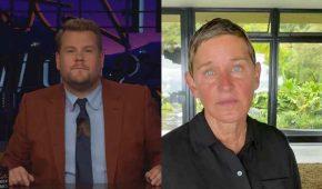 James Corden en línea para reemplazar a Ellen DeGeneres