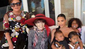 Kim Kardashian fue vista saliendo del hospital tras enuentro con Kanye West