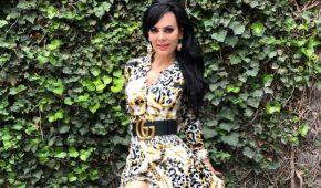 Maribel Guardia choca al salir de instalaciones de Televisa
