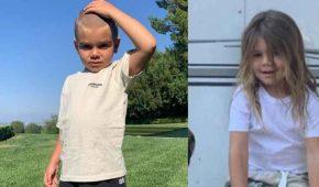 Hijo de Kourtney Kardashian, Reign, se corta la cabellera luego de sufrir bullying