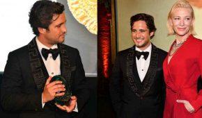 Diego Boneta  recibe el premio 'Seguso' en el Festival de Cine de Venecia