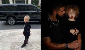 Rapero Drake muestra orgulloso fotografía de su hijo