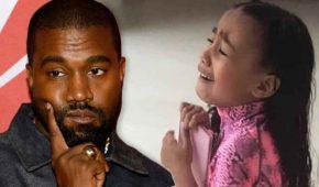 Kanye West escribe preocupante mensaje a su hija North West
