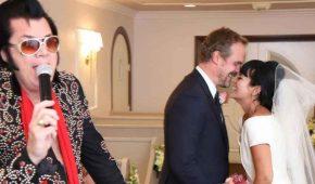Lily Allen se casó en secreto con David Harbour
