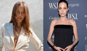 La nueva novia de Brad Pitt niega 'odiar' a Angelina Jolie