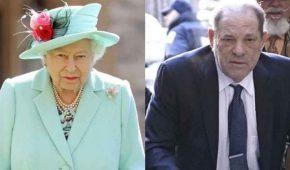 La reina despoja a Harvey Weinstein de su cargo honorífico