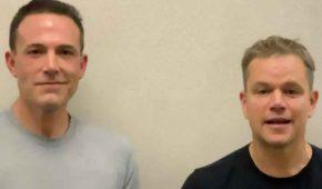 Matt Damon se burla de Ben Affleck por perder el papel de Batman
