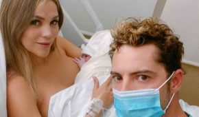 David Bisbal presenta a su segunda hija con Rosanna Zanetti