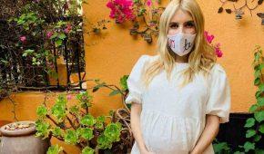 Para Emma Roberts, quedar embarazada en la cuarentena fue lo mejor que le ha pasado