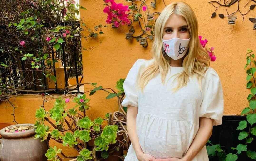 Para Emma Roberts, quedar embarazada en la cuarentena fue lo mejor que le  ha pasado - LaBotana.com
