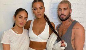 Khloe Kardashian exagera en su bronceado