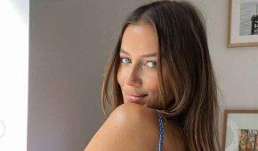 Nicole Poturalski comparte impresionante fotografía para provocar a Brad Pitt