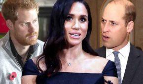 Trabajo de Meghan Markle en Vogue provocó duro enfrentamiento entre Harry y William