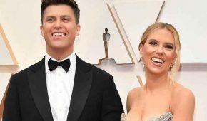 Scarlett Johansson  y Colin Jost se han casado en una íntima ceremonia