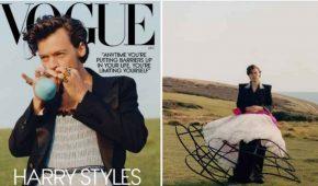 Harry Styles crea caos sobre la 'masculinidad' con su vestido de Vogue