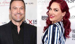 Brian Austin Green hace oficial su romance con la australiana Sharna Burgess