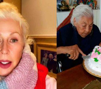 Doña Eva Mange pedía a Laura Zapata la saca del asilo