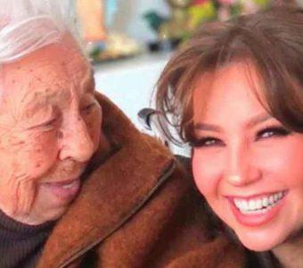 Eva Mange  ya no reconoce a su nieta Thalía