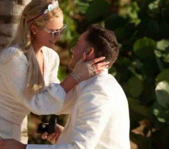 Paris Hilton se ha comprometido en matrimonio con su novio Carter Reum