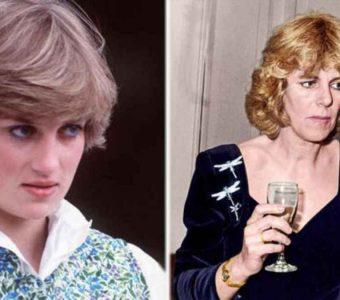 Princesa Diana dice que Camilla Pa rker la vio como una amenaza cuando la conoció