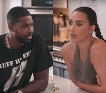 Kim Kardashian le da a Tristan Thompson sinceros consejos