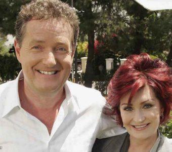 Piers Morgan respalda a Sharon Osbourne después de su despido de CBS
