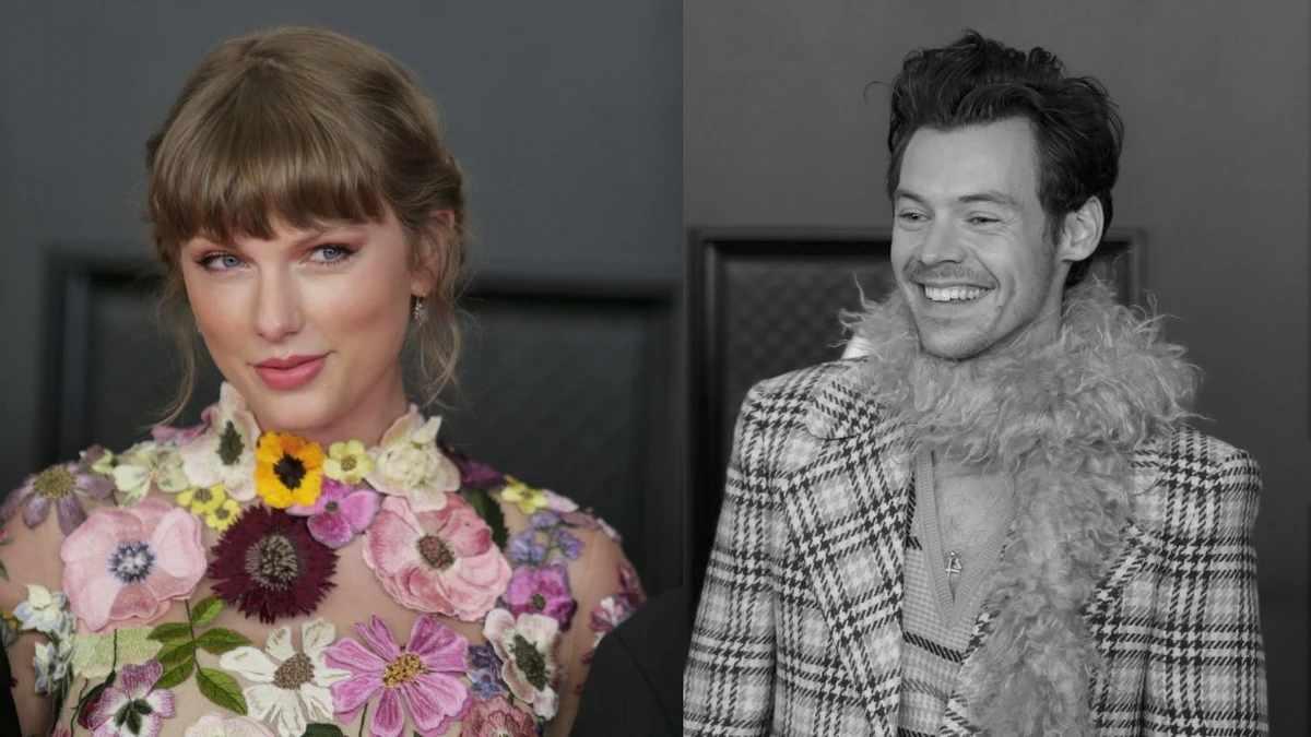 Taylor Swift y Harry Styles se reencuentran en la ceremonia de los Grammy