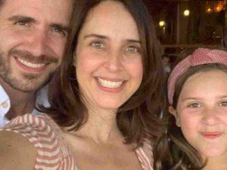 Irán Castillo y su familia